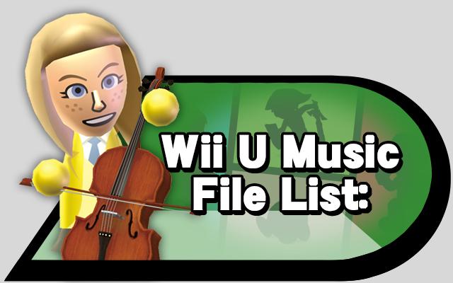 wiiumusic-list