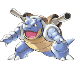 Blastoise from Pokémon Adventures.