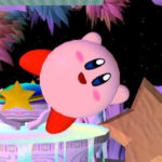 It's Kirby. He's very round.