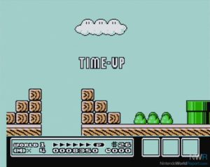 Super Mario Bros 3 Time-Up