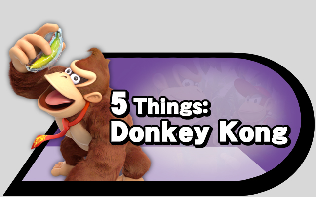 5 Things Donkey Kong