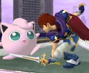 Jigglypuff vs. Roy in Super Smash Bros. Melee