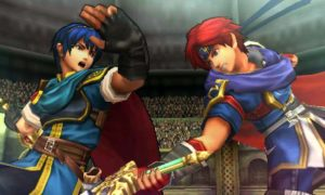 Marth and Roy at Arean Ferox