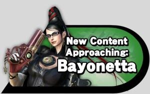 New Content Approaching: Bayonetta