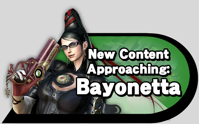 New Content Approaching: Bayonetta