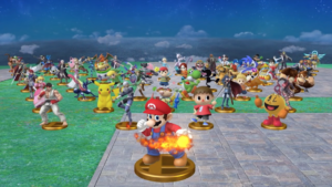 All 58 fighters in Super Smash Bros. for Wii U