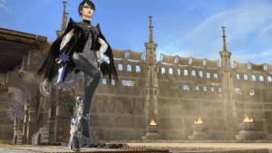 Bayonetta in Super Smash Bros. for Wii U.