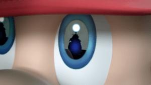 Mario and Bowser Jr. in Super Smash Bros.
