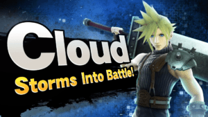 Cloud is in Super Smash Bros. for Nintendo 3DS and Wii U!