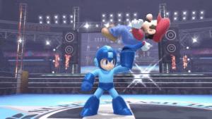 Mega Man vs. Mario on Boxing Ring