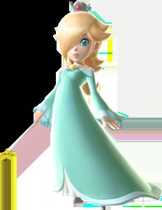 Rosalina's character portrait in Super Mario Galaxy (Image: Nintendo)