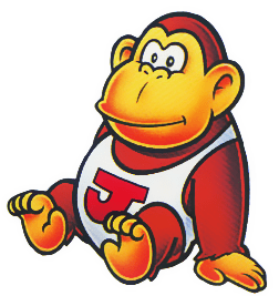 Donkey Kong Jr. in the Game Boy's Donkey Kong