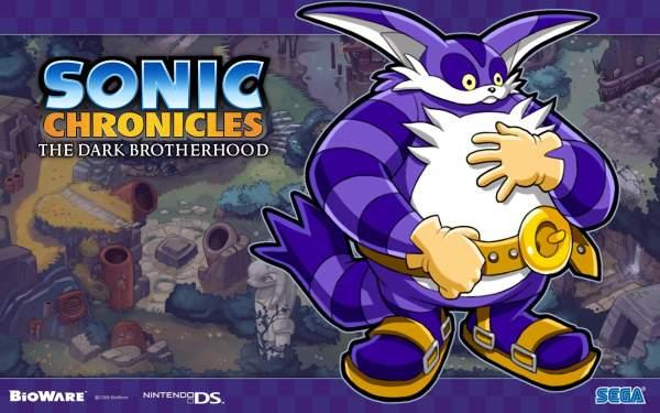 Big the Cat in Sonic Chronicles: The Dark Brotherhood
