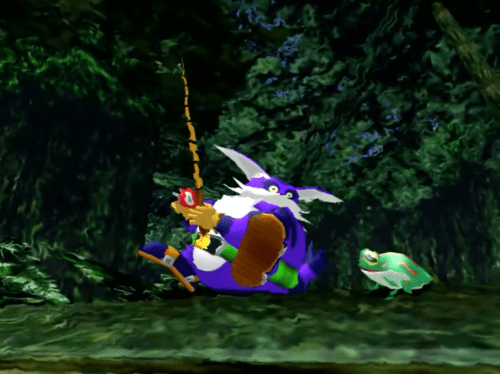 Big the Cat and Froggy in Sonic Adventure