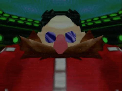 Dr. Eggman in Sonic Adventure