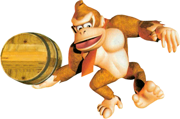 Donkey Kong Country Barrel