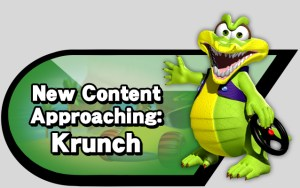 New Content Approaching: Krunch