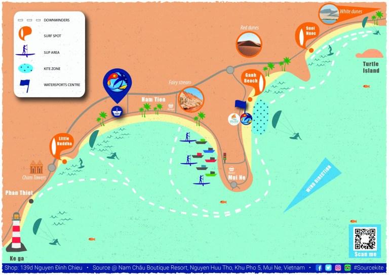 map of mui ne watersports spots