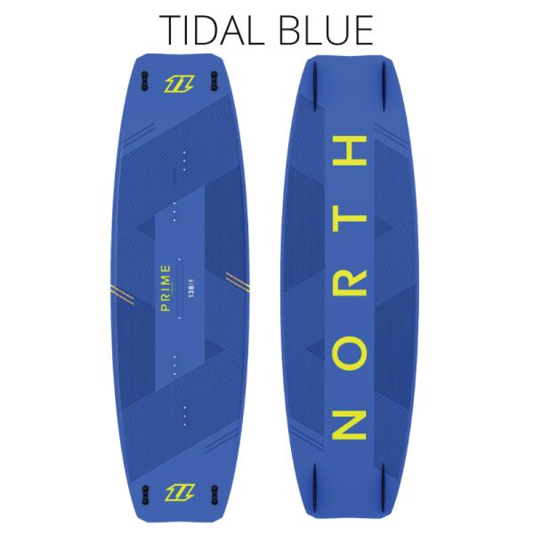 north prime twin tip board tidal blue