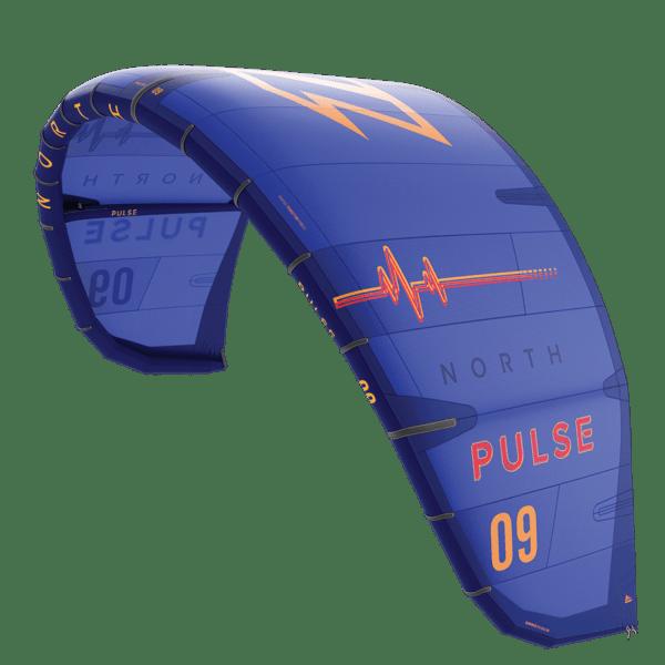 north pulse kite in blue