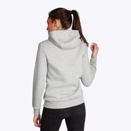 mystic brand hoodie in grey
