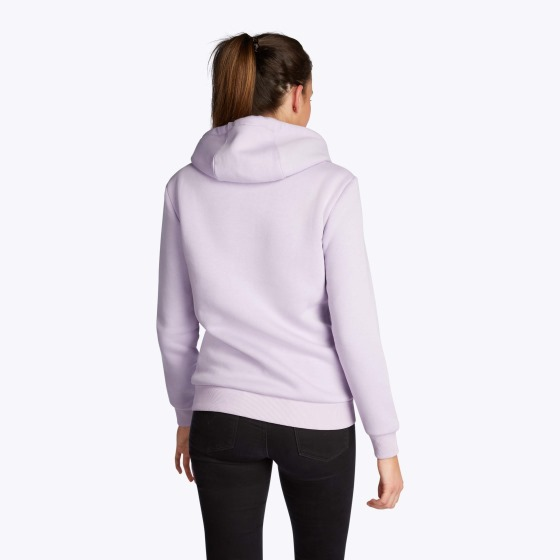 mystic brand hoodie in lilac