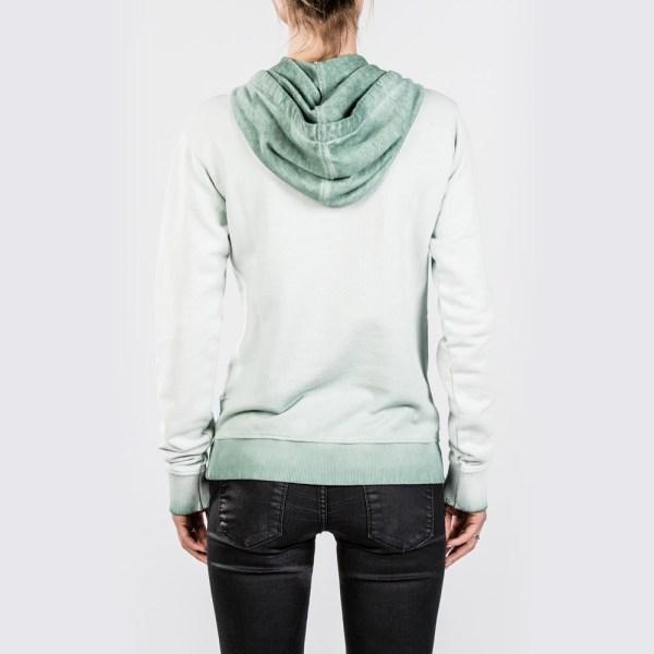 mystic hoodie stow in green