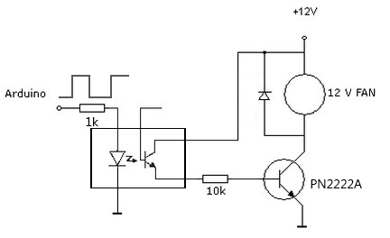 Speed controller schematic LM317 LM358 PWM t