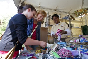 Arts and Jewelry at a festival
