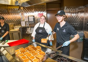 Shaw Dining Hall employees