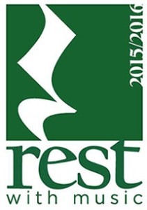 Rest with Music graphic