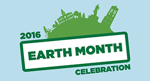 Earth Month graphic