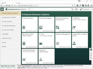 Refreshed EBS Portal