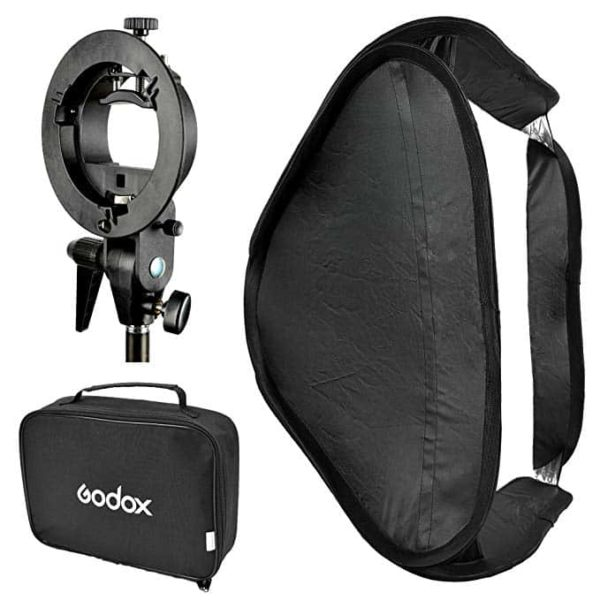 Godox 60x60 with s-mount SOP