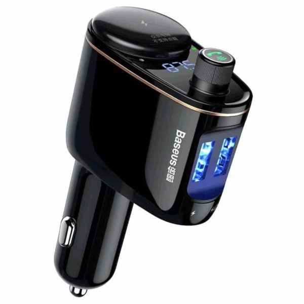 Baseus Locomotive Bluetooth MP3 Car Charger SOP