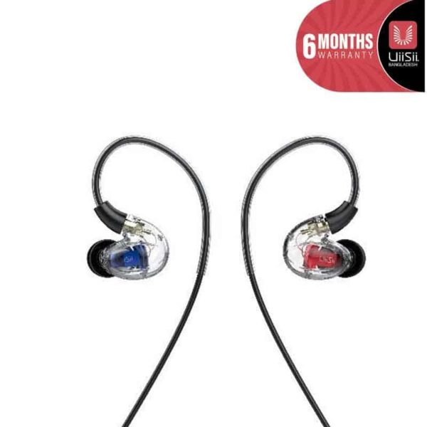 UiiSii CM8 Triple Hybrid Drivers Over-ear Detachable Earphones SOP