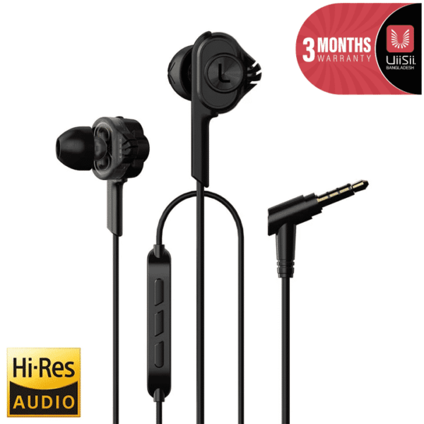 UiiSii T6 Deep Bass Dual Driver Noise-Isolating Earphones SOP