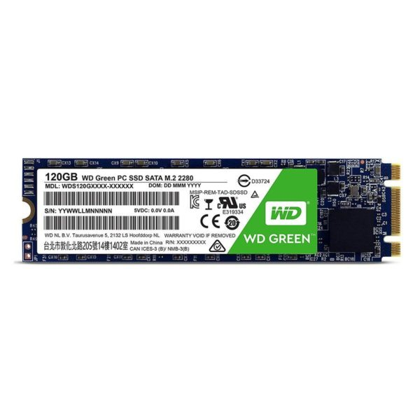 Western Digital Green 120GB M.2 SSD SOP