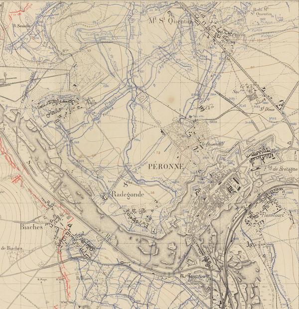 Explorer les cartes de la Grande Guerre