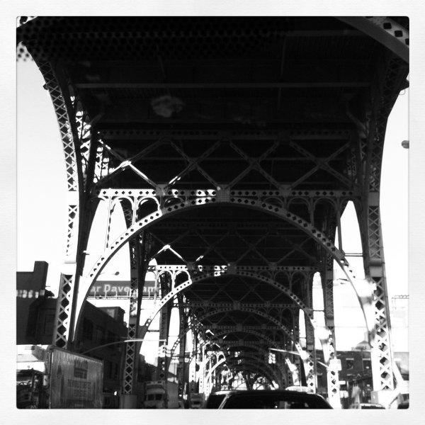 El train in Harlem