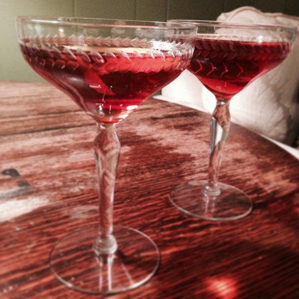 Jim Bean Rye Manhattans for Two