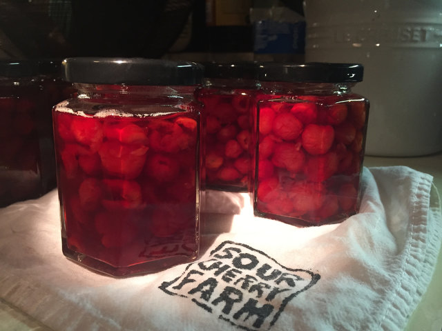 Kevin West's Sour Cherry Preserves