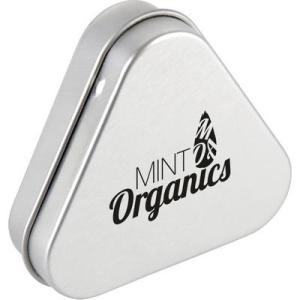 Promotional Triangular Mint Tins Branded with Logo