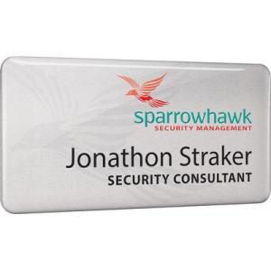 custom printed name badges