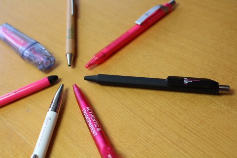 Pens and Writing