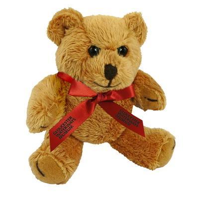"Promotional Item - 5"" Rusty Bear & Neck Bow"