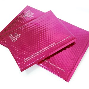 Promotional Recycled Bubble Envelope with Popper Closure