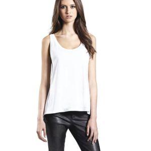 Woman's tencel blend vest