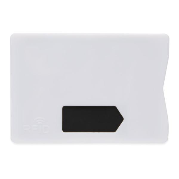 Promotional RFID anti-skimming cardholder