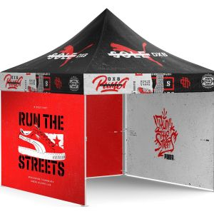 custom printed canopy tent